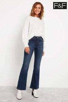 F&F Indigo Bootcut Jeans
