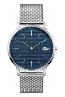 Lacoste Stainless Steel Mesh Moon Watch