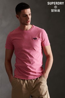 Superdry Pink Embroidered T-Shirt
