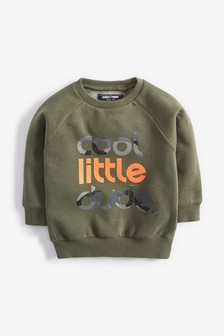 Cool Little Dude Crew Top (3mths-5yrs)