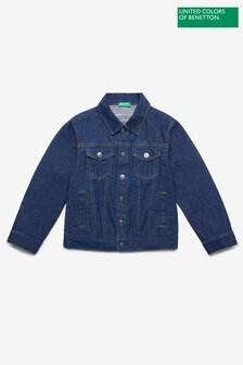 Benetton Blue Denim Jacket