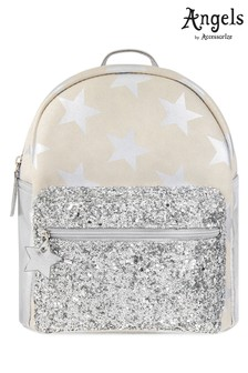 Angels By Accessorize Silver Star Glitzy Backpack