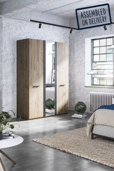 Jenson Hinged 3 Door Wardrobe