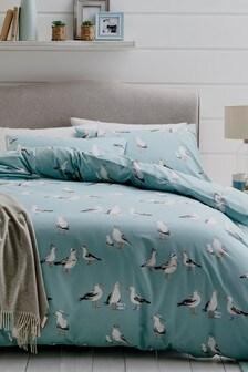 Simon The Seagull Duvet Cover And Pillowcase Set