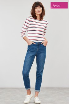 Joules Blue Simone Girlfriend Jeans