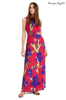 Phase Eight Pink Silvana Printed Maxi Dress