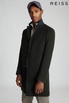 Reiss Gable Wool Blend Epsom Overcoat