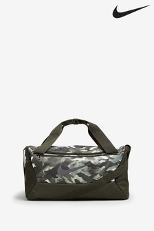 Nike Brasilia Training Small Camo Duffle Bag