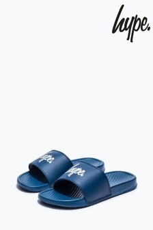 Hype. Blue Core Sliders