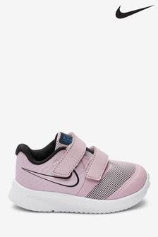 Nike Pink/White Star Runner 2 Trainers