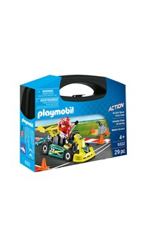 Playmobil® 9322 Action Go-Kart Racer Carry Case