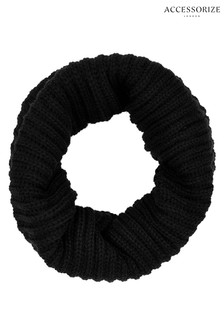 Accessorize Black Opp Snood
