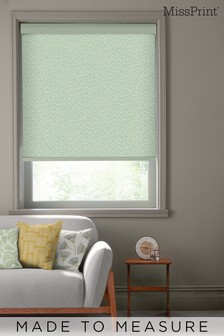 Chimes Pistachio Green Made To Measure Roller Blind by MissPrint