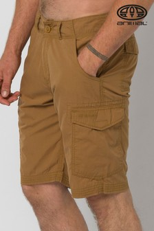 Animal Dijon Brown Atlantas Walk Shorts