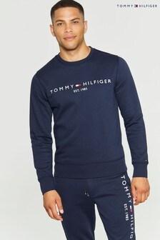 Tommy Hilfiger Blue Logo Sweatshirt