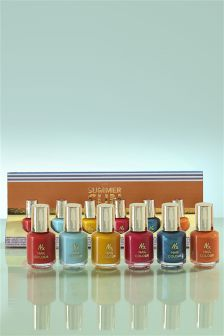 Set of 6 Summer Sun Nail Varnish