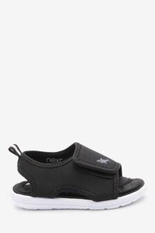 Single Strap Memory Foam Trekker Sandals (Younger)