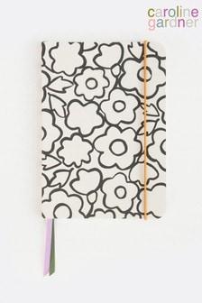 Caroline Gardner Doodle Floral A5 Notebook
