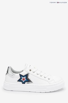 Tommy Hilfiger White Star Trainers