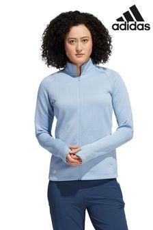 adidas Golf Textured Full Zip Jacket