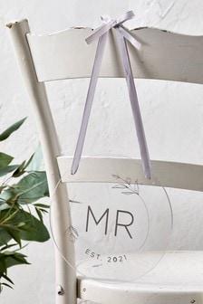 Acrylic Mr Chair Sign