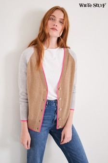 White Stuff V-Neck Cashmere Cardigan