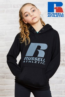 Russell Athletic Girls Logo Hoodie