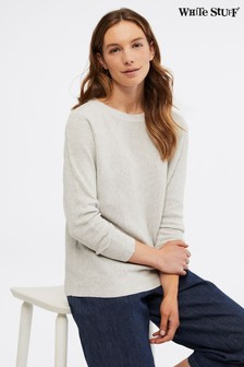 White Stuff Grey Avenue Organic Jumper