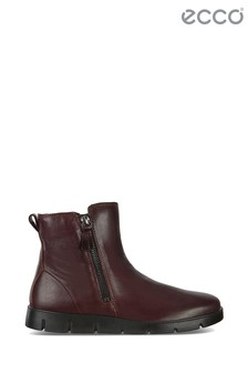 ECCO® Brown Double Zip Boot