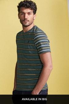 Gestreiftes T-Shirt mit schmaler Passform