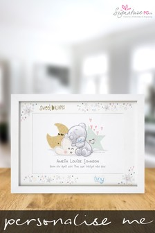 Personalised Tiny Tatty Teddy Sweet Dreams Framed Print by Signature PG