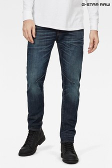 G-Star Blue D-Staq Five Pocket Slim Jeans