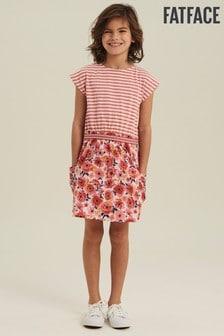 FatFace Pink Martha Flower Print Dress