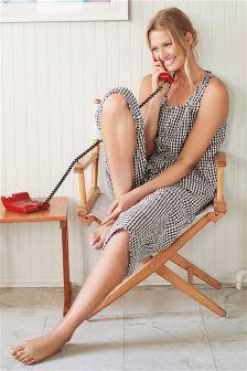 Cotton Culotte Pyjama Set