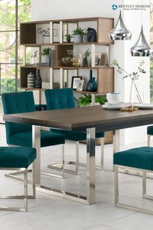 Tivoli 6 to 10 Seater Extending Dining Table by Bentley Designs