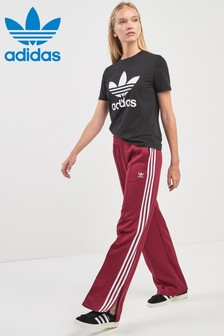 adidas Originals Trainingshose im modernem Look, braun