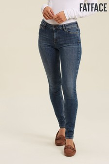 FatFace Blue Harlow Super Skinny Jeans