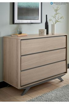 Brunel 3 Drawer Chest by Bentley Designs