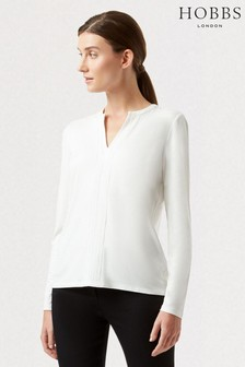 Hobbs Cream Harlow Top