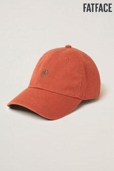 FatFace Orange Plain Baseball Cap