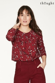 Thought Red Enid Top