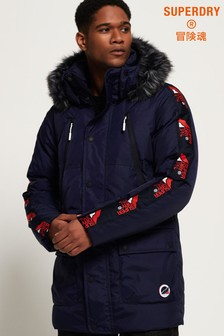 Superdry Canadian Mountain Range Down Coat