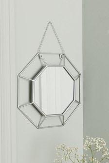 Deco Facet Mirror