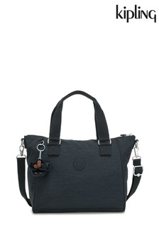 Kipling Navy Amiel Medium Handbag