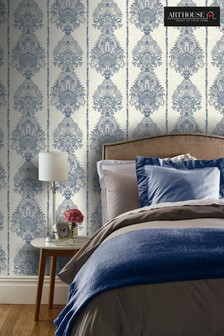 Silk Road Damask Wallpaper by Arthouse