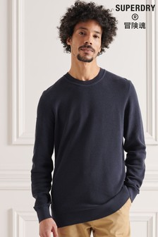 Superdry Cotton Textured Knit Jumper