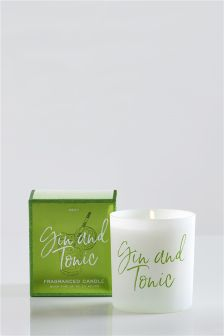 Gin & Tonic Fragranced Candle