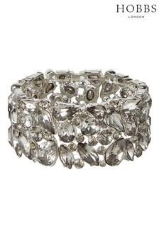 Hobbs Silver Tone Bella Bracelet
