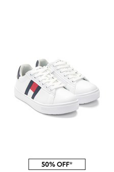 Tommy Hilfiger Shoes Kids White Trainers