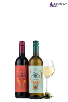 Deer Point Wine Gift Set by Lanchester Gifts